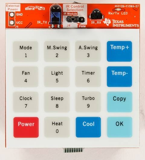 BOOST-IR, Texas Instruments